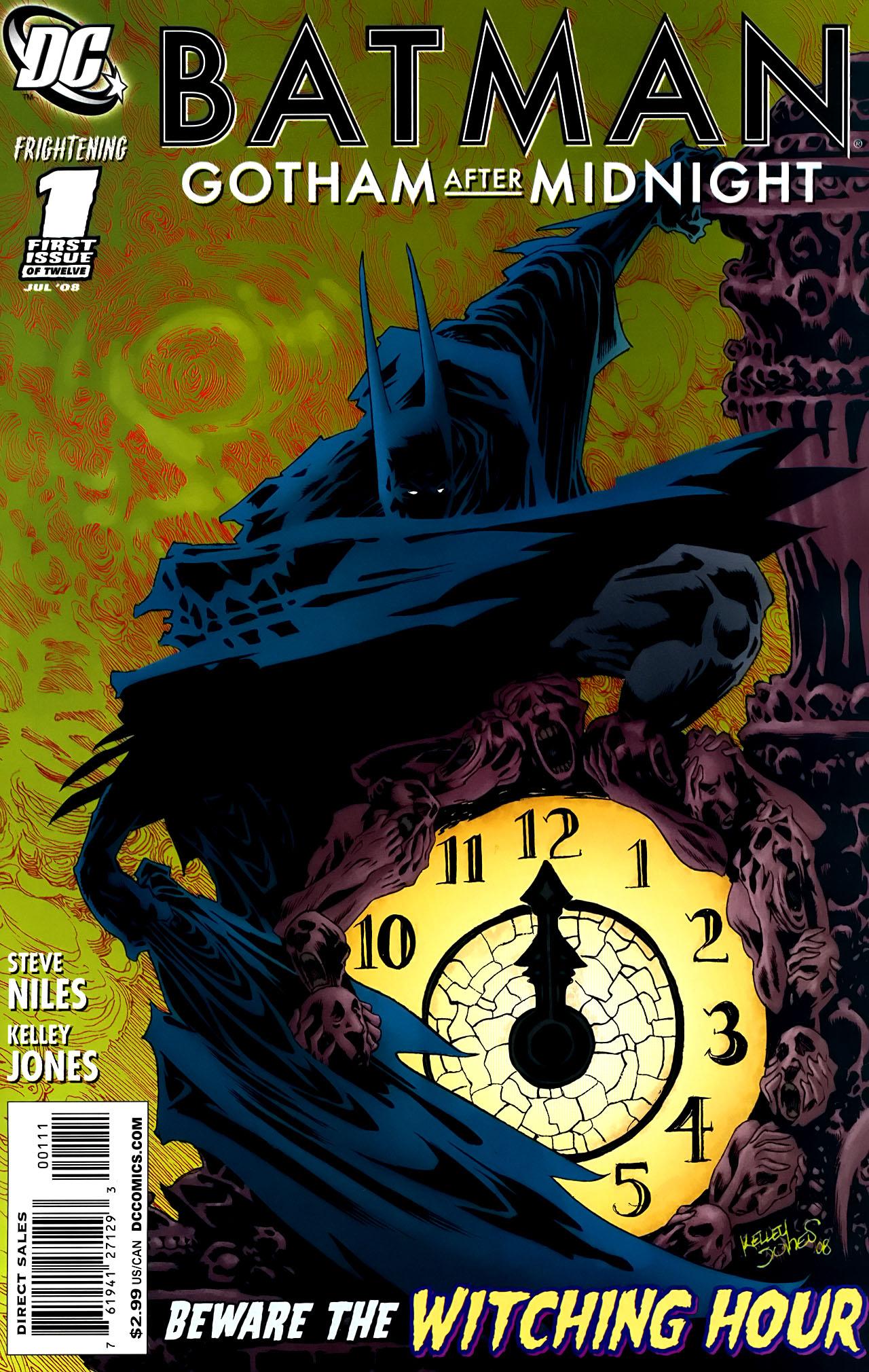 Комиксы для взрослых - Бэтмен: Готэм После Полуночи - # 1 - Страница №1 - Batman: Gotham After Midnight - # 1